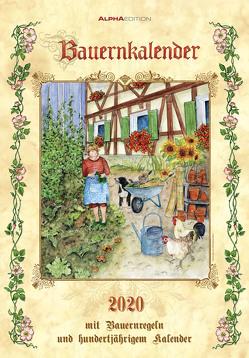 Bauernkalender 2020 – Bildkalender (24 x 34) – inkl. Bauernregeln – mit 100-jährigem Kalender – Wandkalender von ALPHA EDITION