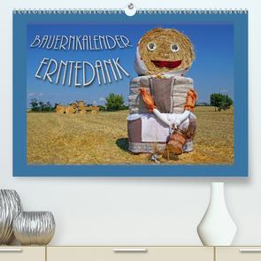 Bauernkalender – Erntedank (Premium, hochwertiger DIN A2 Wandkalender 2020, Kunstdruck in Hochglanz) von Flori0
