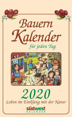 Bauernkalender für jeden Tag 2020 Tagesabreißkalender von Muffler-Röhrl,  Michaela