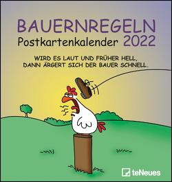 Bauernregeln 2022 – Postkarten-Kalender – Kalender-mit-Postkarten – zum-raustrennen – 16×17 von Holzach,  Alexander