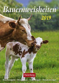 Bauernweisheiten – Kalender 2019 von Dilling,  Jochen, Harenberg