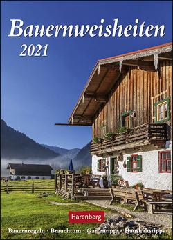 Bauernweisheiten Kalender 2021 von Dilling,  Jochen, Harenberg
