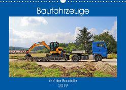 Baufahrzeuge auf der Baustelle (Wandkalender 2019 DIN A3 quer) von Geiger,  Günther