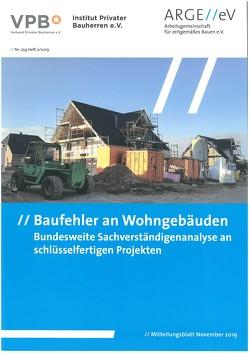 Baufehler an Wohngebäuden von Depner,  Jürgen, Selk,  Michael, Walberg,  Dietmar