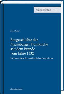 Baugeschichte der Naumburger Domkirche seit dem Brande vom Jahre 1532 von Kaiser,  Bruno, Ludwig,  Matthias, Schubert,  Ernst