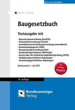 Baugesetzbuch von Heinrich,  Roxana, Runkel,  Peter