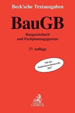 Baugesetzbuch von Stüer,  Bernhard