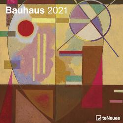 Bauhaus 2021 – Wand-Kalender – Broschüren-Kalender – 30×30 – 30×60 geöffnet – Kunst-Kalender