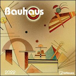 Bauhaus 2022 – Wand-Kalender – Broschüren-Kalender – 30×30 – 30×60 geöffnet – Kunst-Kalender