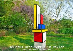 Bauhaus-Architektur im Ruhrgebiet (Wandkalender 2020 DIN A2 quer) von Hermann,  Bernd