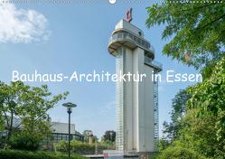 Bauhaus-Architektur in Essen (Wandkalender 2021 DIN A2 quer) von Hermann,  Bernd