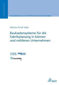 Baukastensysteme für die Fabrikplanung in kleinen und mittleren Unternehmen von Voet,  Hanno Arnd