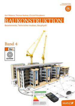 Baukonstruktion HTL IV von Bednar,  Thomas, Mezera,  Karl, Riccabona,  Cristof