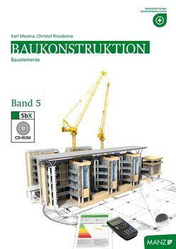 Baukonstruktion HTL V von Bednar,  Thomas, Mezera,  Karl, Riccabona,  Cristof
