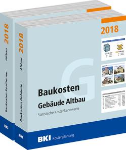 Baukosten Gebäude + Positionen Altbau 2018