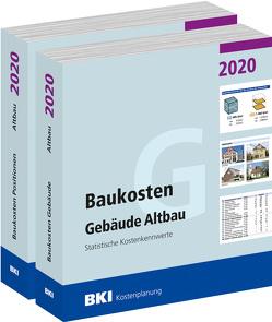 Baukosten Gebäude + Positionen Altbau 2020