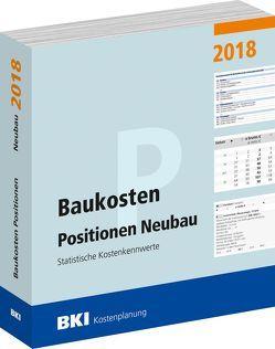 Baukosten Positionen Neubau 2018