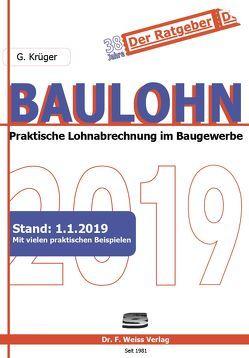 Baulohn 2019 von Krüger,  Günther