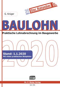 Baulohn 2020 von Krüger,  Günther