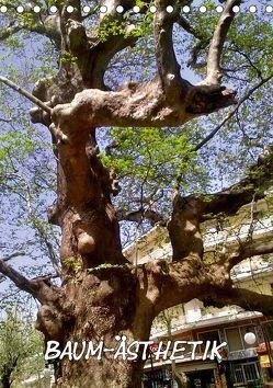 Baum-Ästhetik (Tischkalender 2019 DIN A5 hoch) von Schneller,  Helmut