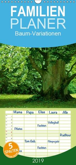 Baum-Variationen – Familienplaner hoch (Wandkalender 2019 <strong>21 cm x 45 cm</strong> hoch) von Barig,  Joachim