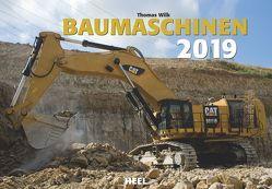 Baumaschinen 2019 von Wilk,  Thomas (Fotograf)