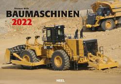 Baumaschinen 2022 von Wilk,  Thomas