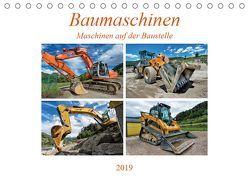 Baumaschinen – Maschinen auf der Baustelle (Tischkalender 2019 DIN A5 quer) von Niederkofler,  Georg