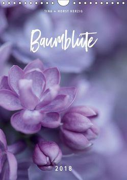 Baumblüte (Wandkalender 2018 DIN A4 hoch) von + Horst Herzig,  Tina