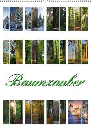 Baumzauber (Wandkalender 2018 DIN A2 hoch) von Gierok,  Steffen