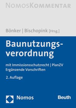 Baunutzungsverordnung von Bischopink,  Olaf, Bönker,  Christian