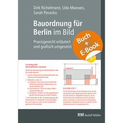 Bauordnung für Berlin im Bild mit E-Book (PDF) von Moewes,  Udo, Perackis,  Sarah, Richelmann,  Dirk