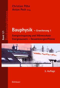 Bauphysik von Pech,  Anton, Pöhn,  Christian