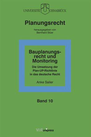 Bauplanungsrecht und Monitoring von Sailer,  Anke