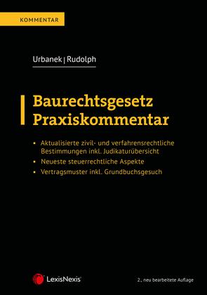 Baurechtsgesetz von Rudolph,  Andreas, Urbanek,  Sigrid