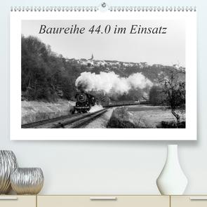 Baureihe 44.0 im Einsatz (Premium, hochwertiger DIN A2 Wandkalender 2021, Kunstdruck in Hochglanz) von M.Dietsch