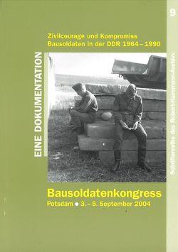 Bausoldatenkongress von Koch,  Uwe, Otto,  Andreas