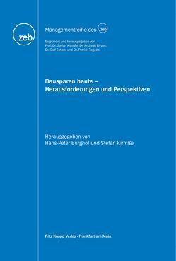 Bausparen heute – Herausforderungen und Perspektiven von Burghof,  Hans-Peter, Kirmße,  Stefan