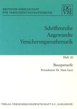 Bauspartarife von Laux,  Hans
