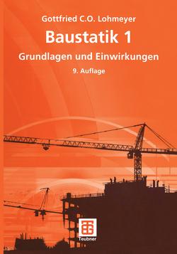 Baustatik 1 von Lohmeyer,  Gottfried C O
