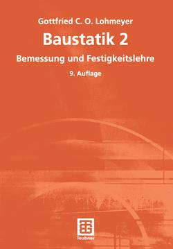 Baustatik 2 von Lohmeyer,  Gottfried C O