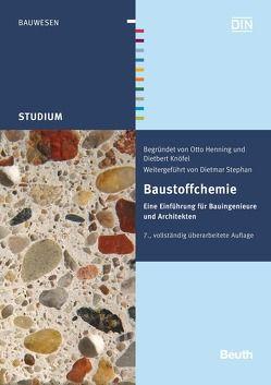 Baustoffchemie von Henning,  Otto, Knöfel,  Dietbert, Stephan,  Dietmar