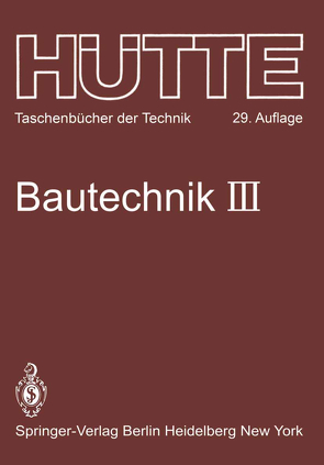 Bautechnik von Becker,  H., Becker,  Horst