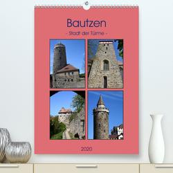 Bautzen – Stadt der Türme (Premium, hochwertiger DIN A2 Wandkalender 2020, Kunstdruck in Hochglanz) von Thauwald,  Pia