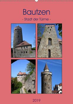 Bautzen – Stadt der Türme (Wandkalender 2019 DIN A2 hoch) von Thauwald,  Pia