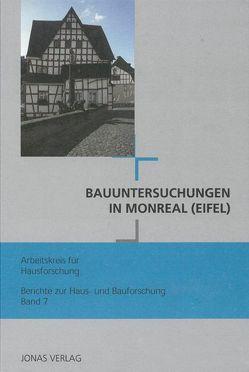 Bauuntersuchungen in Monreal (Eifel) von de Vries,  Dirk J., Freckmann,  Klaus, Grossmann,  G Ulrich, Klein,  Ulrich
