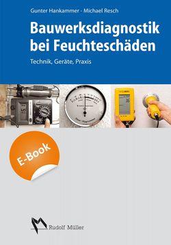 Bauwerksdiagnostik bei Feuchteschäden – E-Book (PDF) von Hankammer,  Gunter, Ludwig,  Gerd, Resch,  Michael