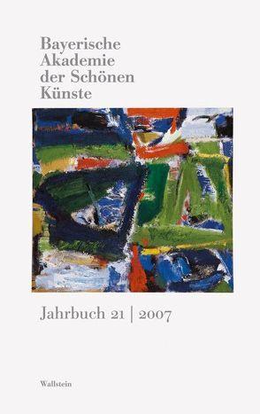 Bayerische Akademie der schönen Künste. Jahrbuch