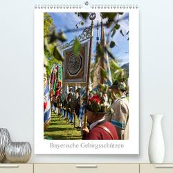 Bayerische Gebirgsschützen (Premium, hochwertiger DIN A2 Wandkalender 2020, Kunstdruck in Hochglanz) von Faltermaier,  Franz