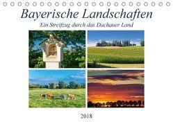 Bayerische Landschaften – Ein Streifzug durch das Dachauer Land (Tischkalender 2018 DIN A5 quer) von Klust / www.foto-jk.de,  Jürgen
